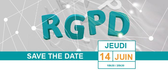 SAVE THE DATE - JEUDI 14 JUIN de 18h30/20h30